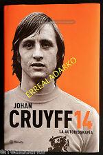 LIBRO FUTBOL JOHAN CRUYFF 14 - LA AUTOBIOGRAFÍA