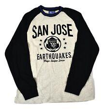 adidas Mens MLS San Jose Earthquakes Quakes Shirt New L