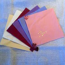 50 Personalised Napkins & 50 White Coasters - Wedding, Christening, Birthday.