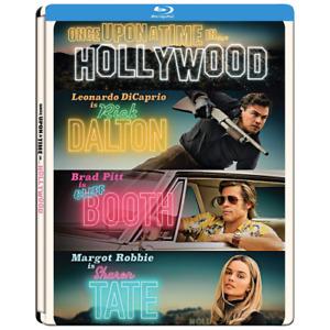 C'ERA UNA VOLTA A HOLLYWOOD (Steelbook) (Blu-ray)