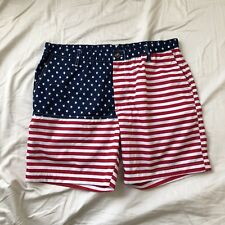 Brand NEW Men's American Flag Shorts (like Chubbies) in all sizes (S, M, L, XL)