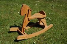 Quality Hand Made Pine Toddler's Rocking Horse