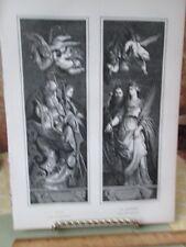 Vintage Print,ELIAS+ST CATHERINE,Crucifixion,1862