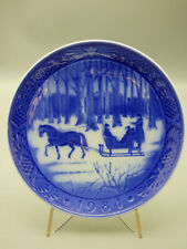 Royal Copenhagen Jingle Bells 1984 Limited Edition Christmas Collector Plate