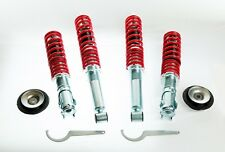 KIT SUSPENSION REGLABLE COMBINES FILETÉ AMORTISSEUR + COUPELLES AVANTS VW GOLF 2