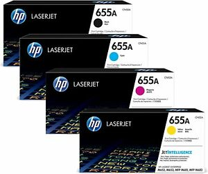 GENUINE HP655A TONER CARTRIDGES, CHOICE OF 4 COLOURS IN LOT - SENT QUICKLY