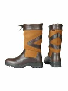 HORKA Greenwich Outdoor Boots Camel Brown Waterproof Leather Short Boots UK 4