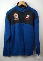 Rusty Wallace Miller Lite Racing Fleece 1/4 Zip Jacket Men's Medium