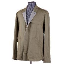 New $1295 BOGLIOLI Mossy Green-Gray Military Detailed Blazer M (Eu 48) Jacket