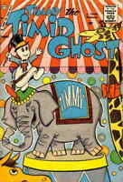 Timmy the Timid Ghost (1st Series) #16 VG; Charlton   low grade comic - save on