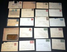 Worldwide Cover Lot #2 / 20 Covers 1883-1950