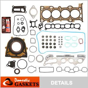Fits 06-13 Mazda 3 5 6 2.3L MX-5 Miata 2.0L DOHC Full Gasket Set MZR LFD