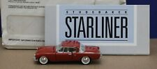 Franklin Mint B11KE15 1:43 1953 Studebaker Starliner Hardtop Red LNIB 1987