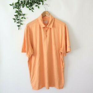 Under Armour Men's Loose Heat Great Athletic Polo Shirt XL TALL Orange