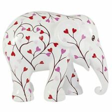 More details for elephant parade ornament collectable limited edition pink tree of love