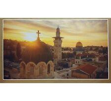 "Jerusalem City GIANT WIDE 24"" x 42"" Print Poster Christmas Gift Jesus Birth Amen"