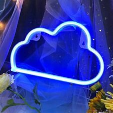 Cloud Shaped Neon Sign Led Neon Light Wall Signs Up For Christmas New Year Art