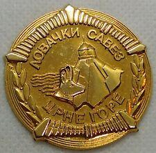 Hunting Association of Montenegro, vintage medal, plaque !