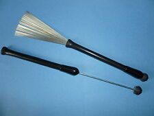 RETRACTABLE WIRE DRUM BRUSHES  Ball End Original Premier Percussion Model
