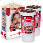 2 AMC Theaters LARGE DRINKS & 1 LARGE POPCORN Gift Certificates w/PIN exp 6/22