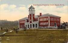 Keyser West Virginia Preparatory School Street View Antique Postcard K91768