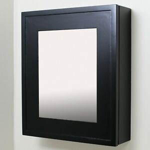 Beautiful Wall-Mount Mirrored Medicine Cabinet - Available in 10 finishes!