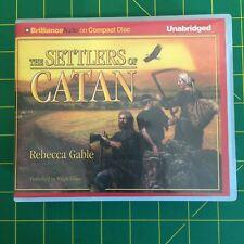 The Settlers of Catan - Autiobook CD, Rebecca Gable, Unabridged, 20 disc Audio