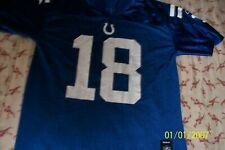 Reebok Youth Large Peyton Manning Indy Colts #18 Jersey
