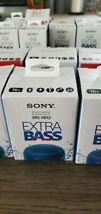 Sony SRS-XB12 Extra Bass Portable Bluetooth Speaker Blue Great Christmas Gift!