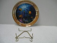 Royal Doulton ~ Franklin Mint ~ Neptunes Porthole Collector Plate w/ Hanger