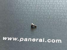 OEM Raro Officine Panerai MX000G4C una serie temprano Luminor BA Tornillos de Hebilla de Tang