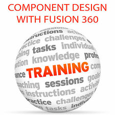 Component Design with AUTODESK FUSION 360 - Video Training Tutorial DVD