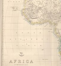 Map Of Africa 1800.Antique African Maps Atlases Lithography 1800 1899 Date Range For
