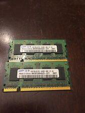 2GB Samsung M470T2864QZ3-CF7 Set of (2x1GB) Modules PC2-6400 DDR2 240-Pin SIMM