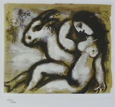 MARC CHAGALL NUDE SHEPHERDESS 1985 SIGNED HAND NUMBERED 291/333 ETCHING