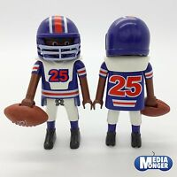 playmobil® American Football Spieler № 25 inkl. Zubehör blau | weiss | rot