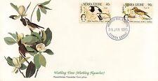 ENVELOPPE / BIRDS OF THE WORLD /  / FAUNE /  OISEAU / SIERRA LEONE / 1985