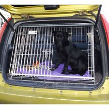 PET WORLD NEW HONDA HRV 99-05 REG SLOPING CAR DOG CAGE BOOT TRAVEL CRATE PUPPY