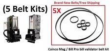 Coinco BillPro / Mag Bill Validator Belt Kit (5 Kits)