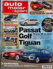 Auto Motor und Sport 2/2014 - Jaguar C-X17, Bentley Continental GTC V8