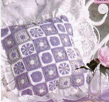 LOVELY Motif Magic Pillow/Decor/Crochet Pattern INSTRUCTIONS ONLY