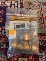 SharkBite 3/4x1/2x3/4 in. Brass Reducing Tee Part #U444A New