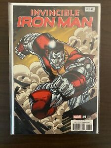 Invincible Iron Man 9 Variant High Grade Marvel Comic Book CL79-37