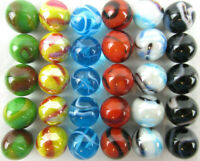 30 DELUXE Solid Glass Replacement Marbles Aggravation Chinese Checker Game 16mm