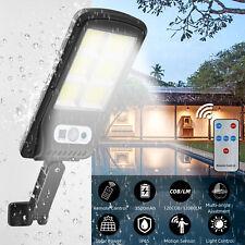 Solar Wall Street Light IP65 Waterproof Motion Sensor Lamp Dust-to-Dawn