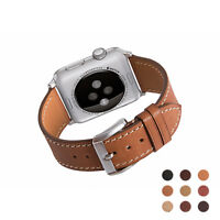 Apple Watch Band Calf Leather for iWatch&Sport&Editionx Series 3/2/1 38mm/42mm