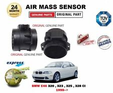 FOR BMW E46 320 323 325 328 i Ci 1998-> ORIGINAL AIR MASS SENSOR + HOUSING 3 PIN