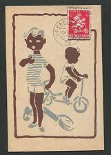 NIEDERLANDE MK 1958 VOOR HET KIND MAXIMUMKARTE CARTE MAXIMUM CARD MC CM d2008