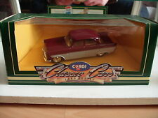 Corgi Classic Ford Zodiac in Red/White on 1:43 in Box