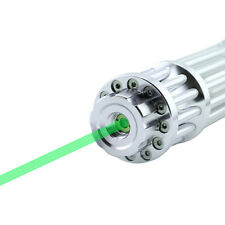 High Power Laser Pointer Pen Green 532nm Military Zoomable Burning Beam New Fast